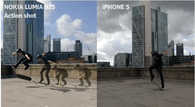 Nokia Lumia 925 ad slams iphone 5