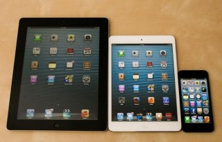 retina ipad mini and ipad 5