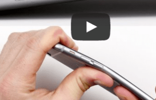 iphone 6 plus bend video