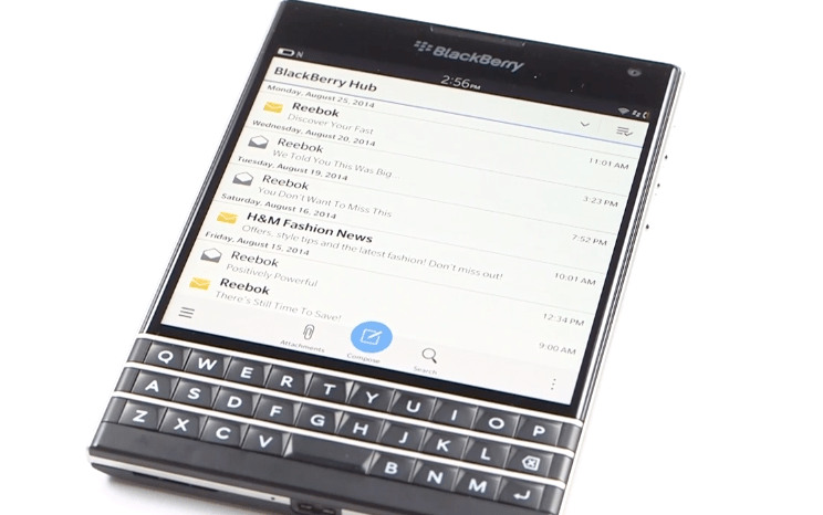 BlackBerry Passport Keyboard