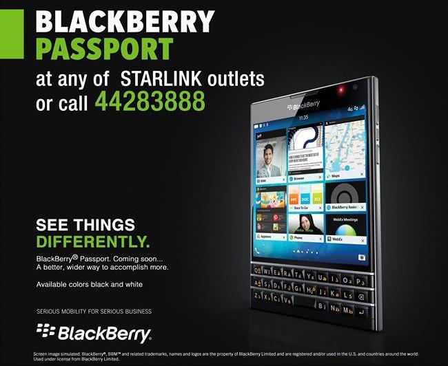 blackberry passport price