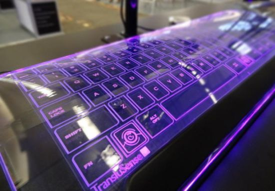 Luminae glass keyboard