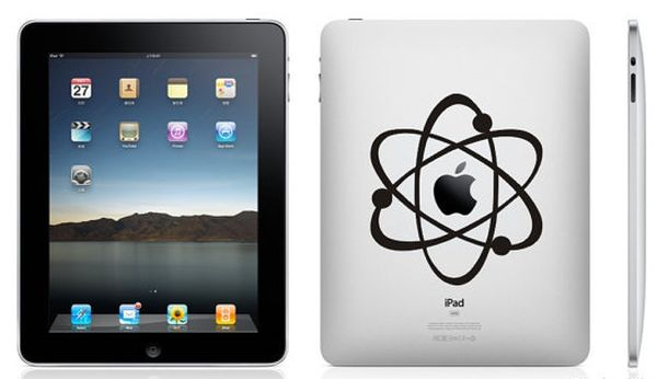 Atomic iPad sticker