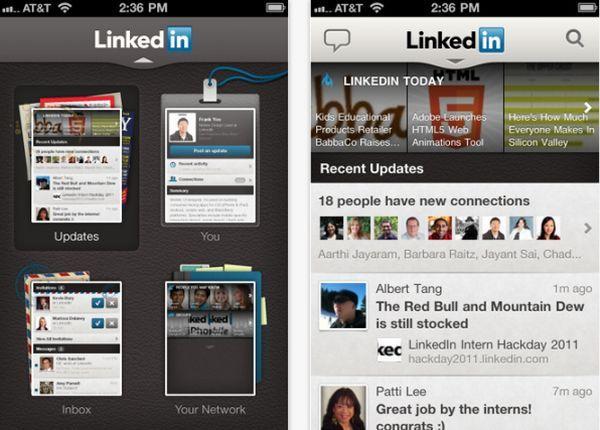 LinkedIn app for i phone 1