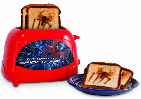 Spider Man toaster