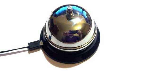 DIY USB bell