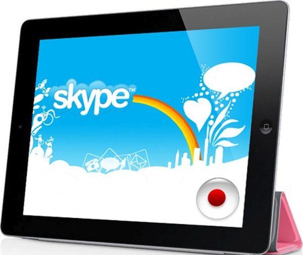 Recording Skype calls on iPad (2)