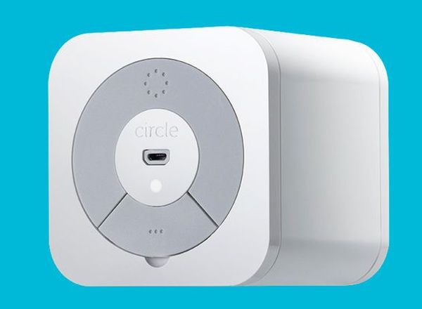 Circle connects with your home Wifi