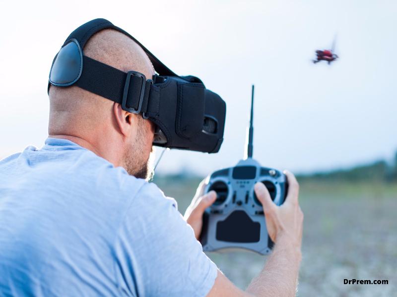 Drone goggles