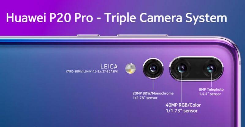 Huwaei p20 pro camera