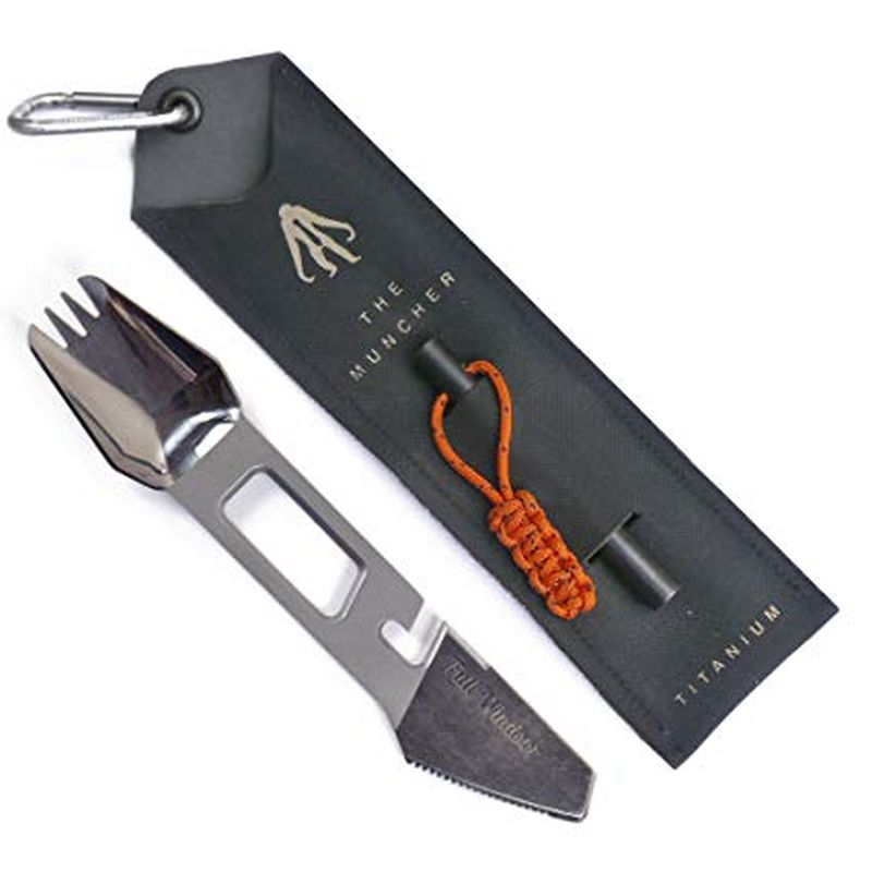 The Muncher Titanium Multi-Tool Utensil