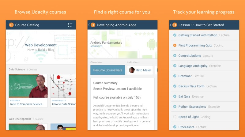 Udacity android