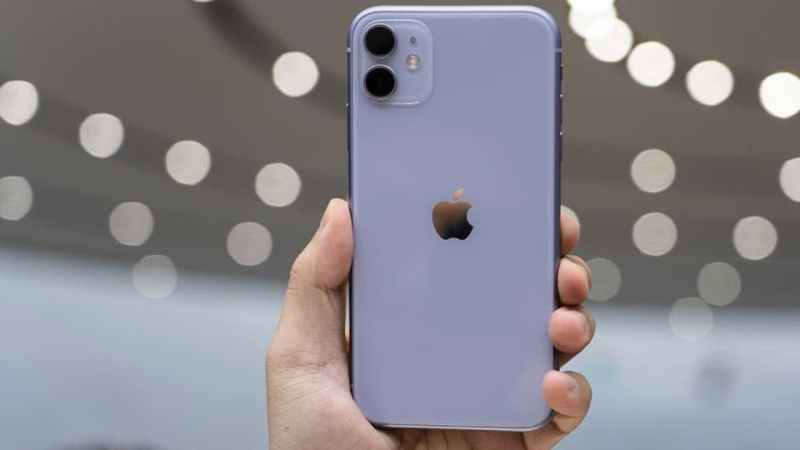 Traseira do iPhone 11