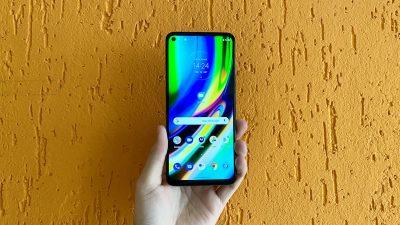 Motorola Moto G9 Plus. Imagem: Caio Carvalho