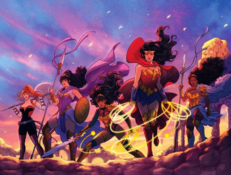 Mulher-Maravilha Trial of the Amazons / Image: DC Comics/Jen Bartel