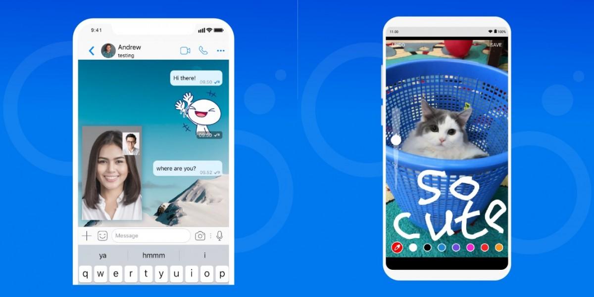 Fitur Chat dan Video Call BBM
