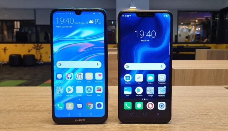 Realme C1 vs Huawei Y7 Pro Gizmologi