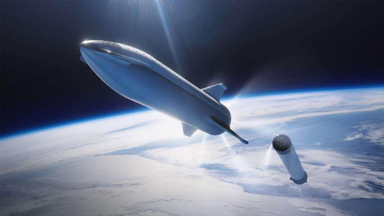 Ilustrasi Starship