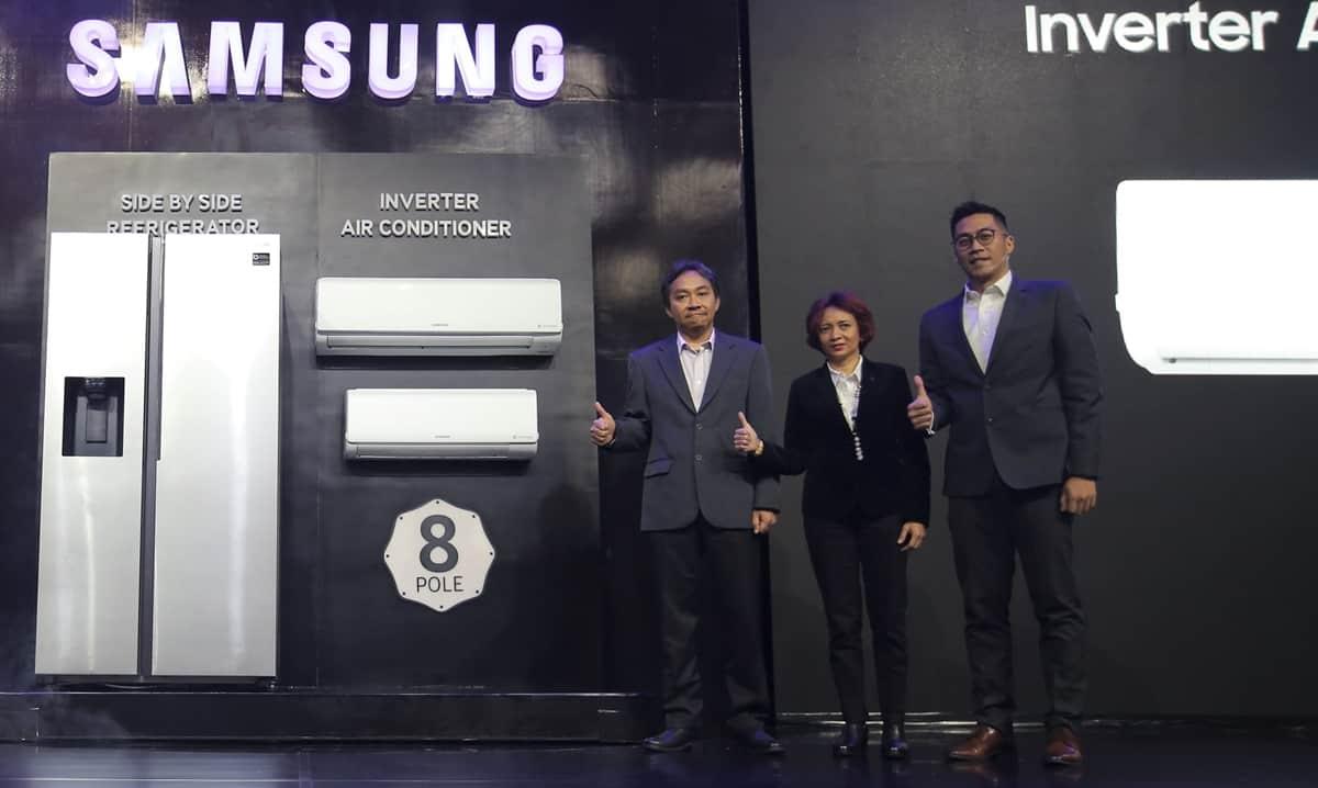Samsung AC Inverter dengan 8 Pole