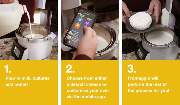 Langkah Membuat Keju Rumahan dengan Fromaggio