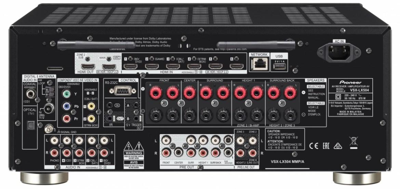 Receiver AV VSX-LX504