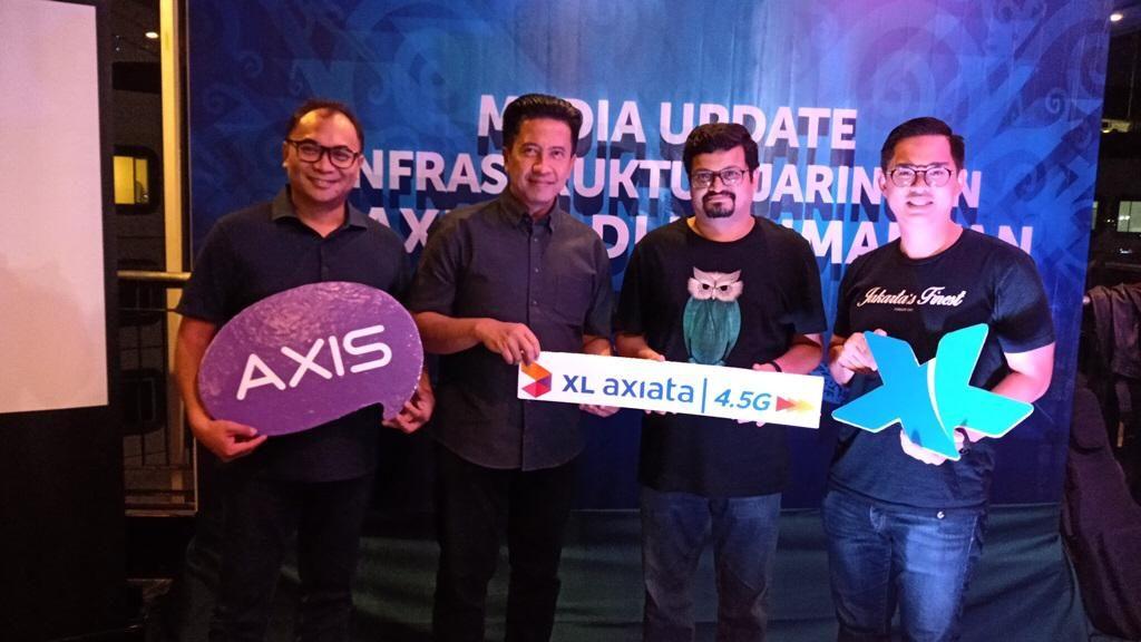 XL di Kalimantan
