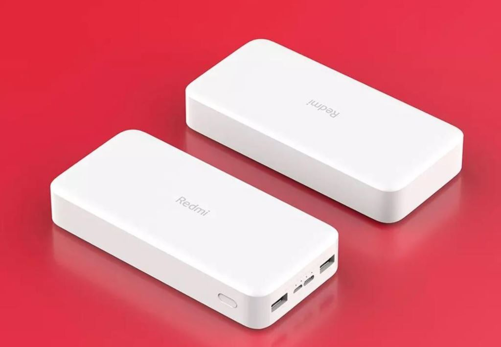 Redmi 18W Fast Charge Power Bank 20000mAh