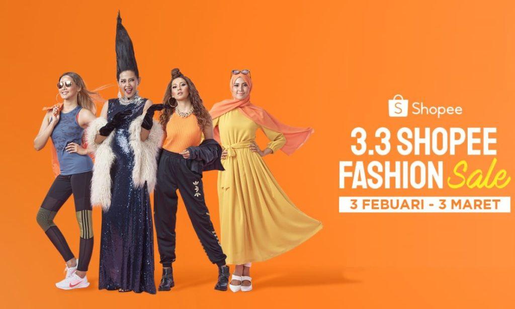 Fashion Lokal 3.3 Shopee Fashion Sale