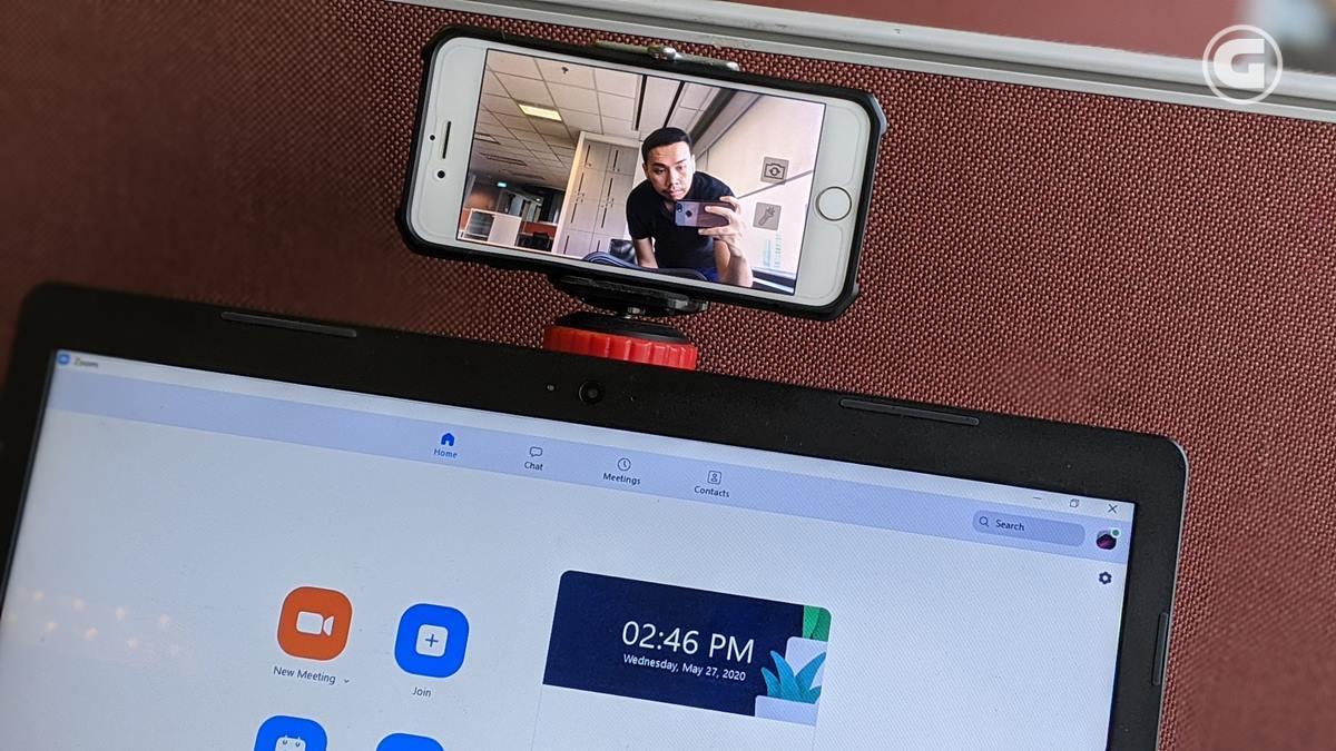 Tips Gunakan Webcam dari Kamera Smartphone