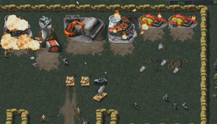 Game PC #2: Command & Conqure Remastered