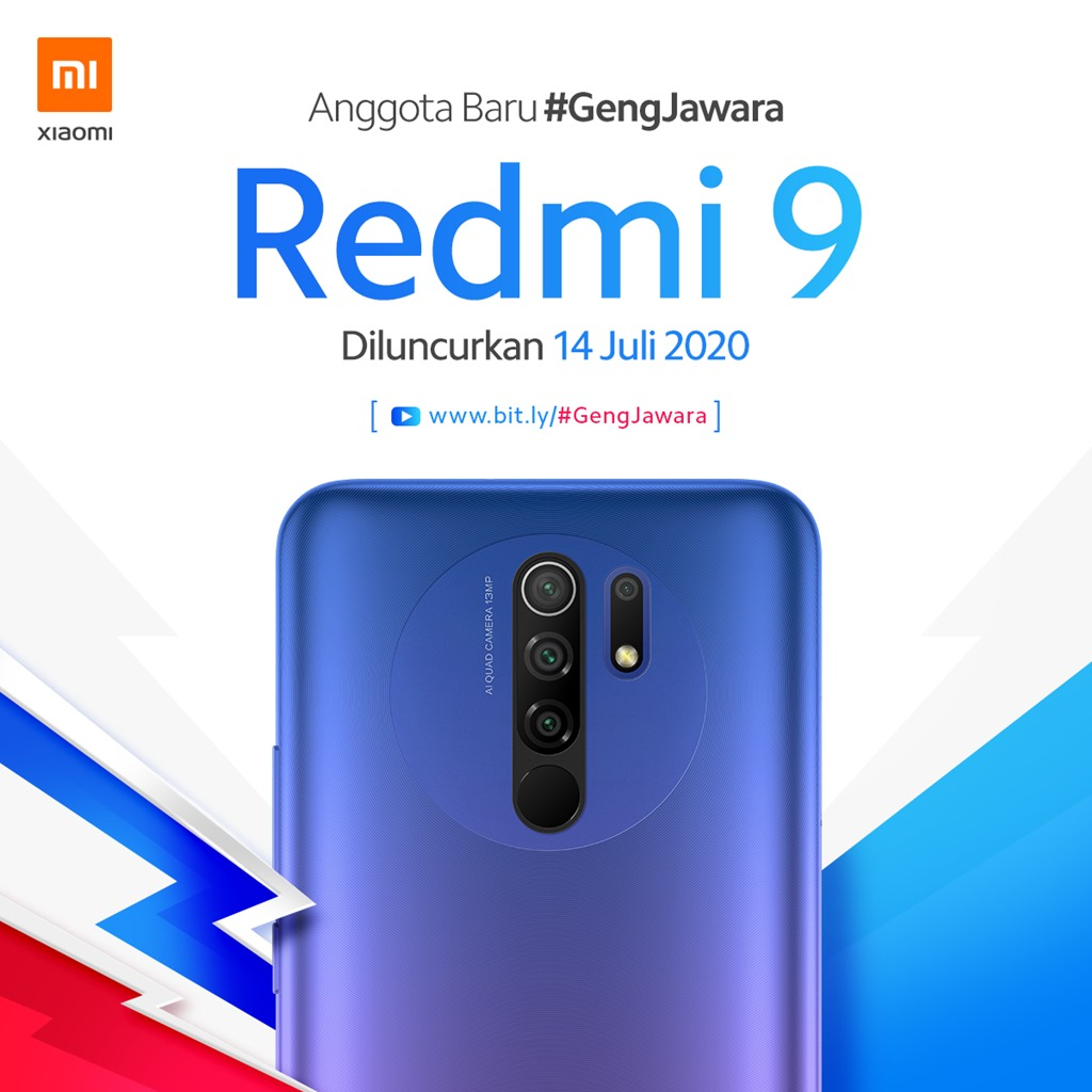 Peluncuran Redmi 9 Indonesia