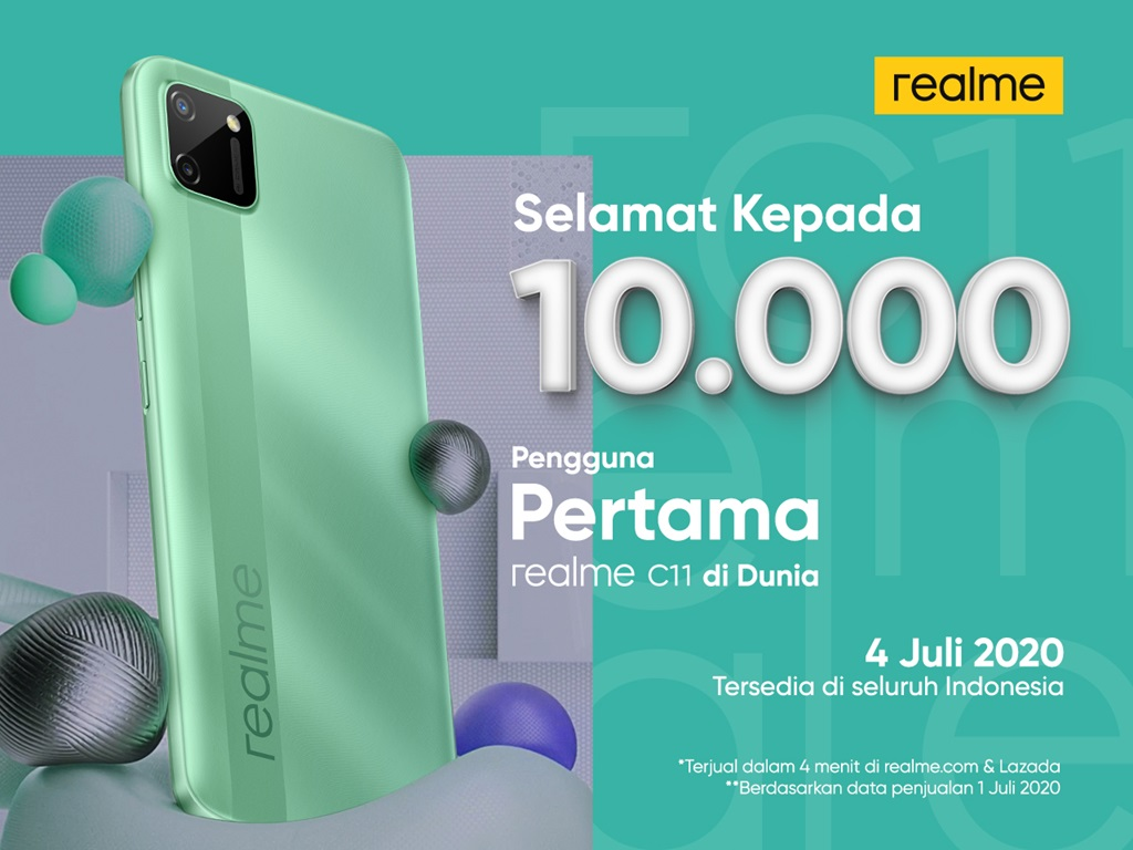 Flash sale realme C11