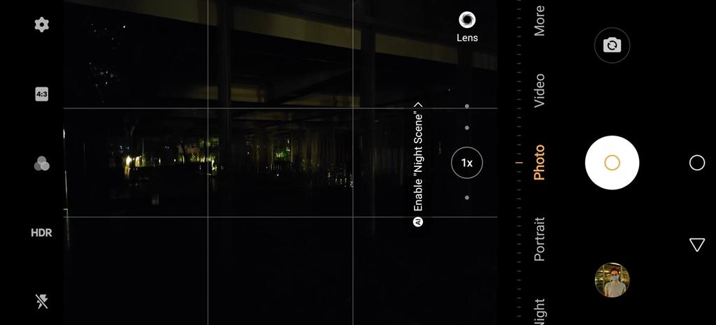 vivo X50 Pro extreme night vision