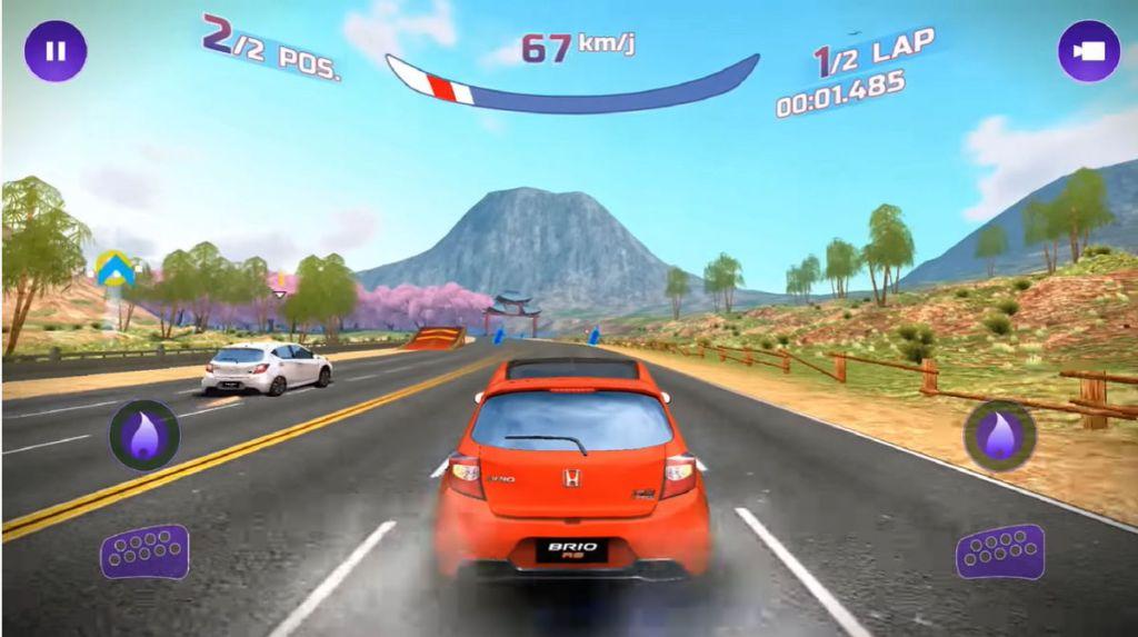 Tantangan Brio Virtual Drift
