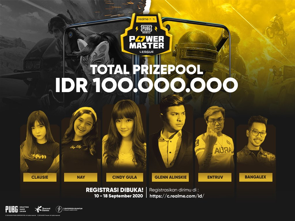 realme PUBG Power Master League