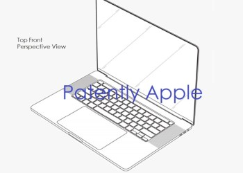 Apple MacBook Pro's new look patent revealed: ultra-narrow bezel design