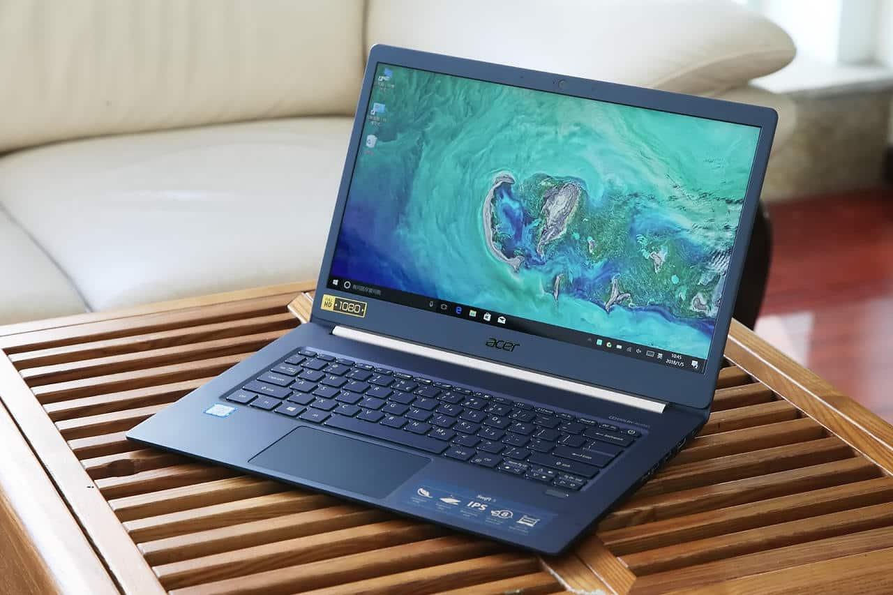 Acer Swift 5 SF514 52 screen
