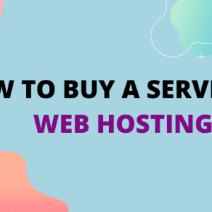server for web hosting