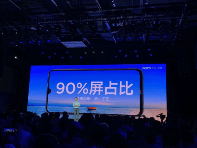Screen to body ratio of mi note 8