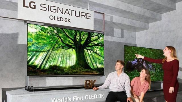LG Signature OLED 8K World's first OLED 8K