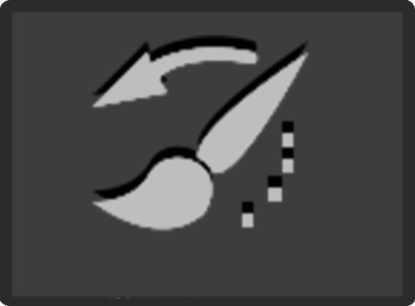 History Brush tool icon
