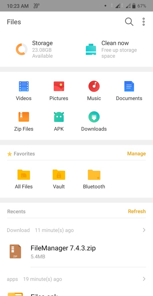 file manager without ads