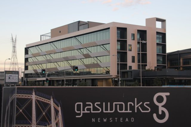 Gasworks building development