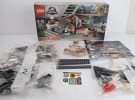 LEGO Jurassic Park Velociraptor Chase Review Box Contents set 75932