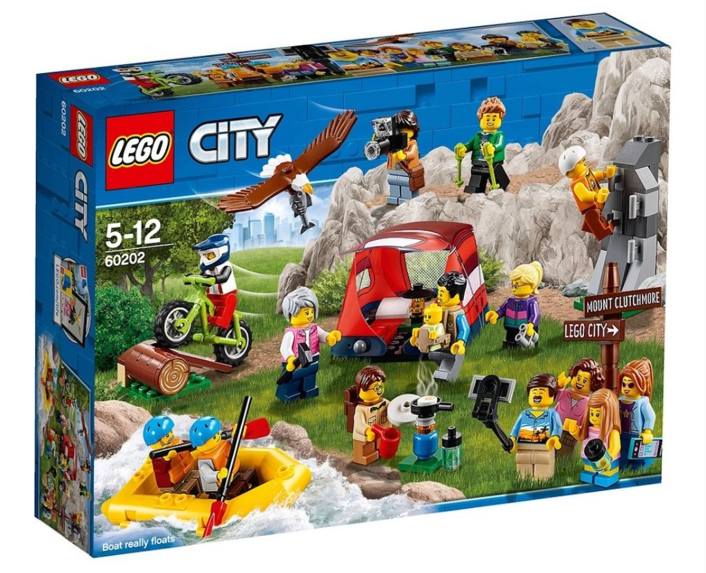 Lego People Pack - Outdoor Adventures 60202 box front