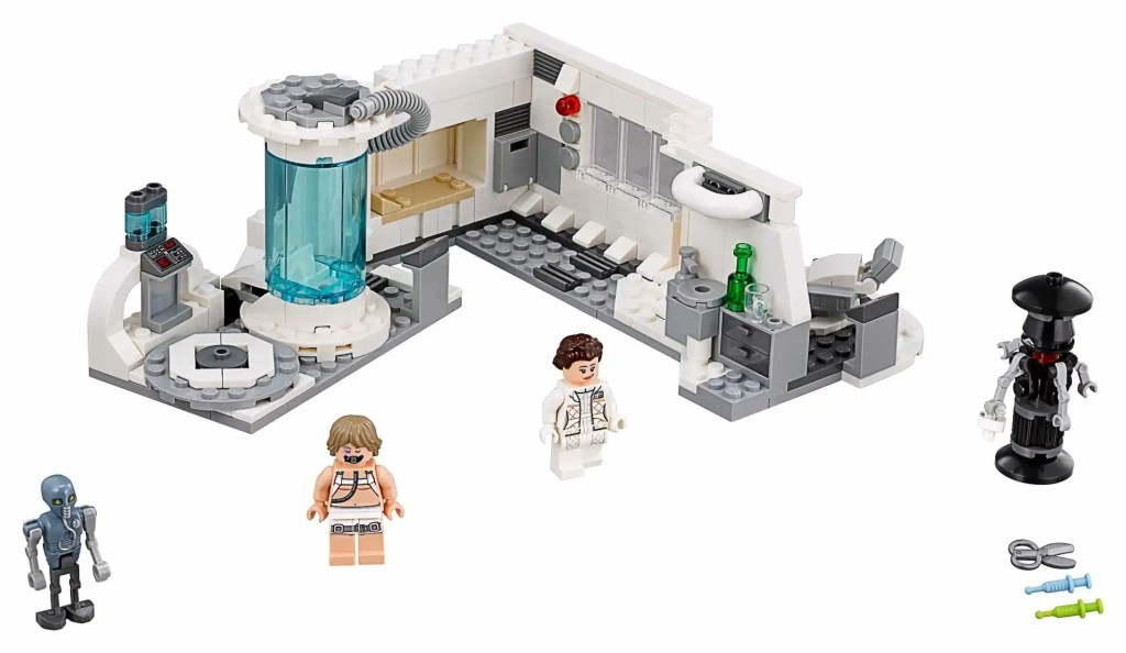 Star Wars Hoth Medical Chamber 75203