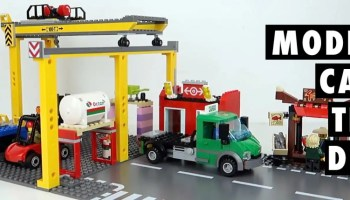 Unboxing the LEGO City Cargo Train set 60052 [video]