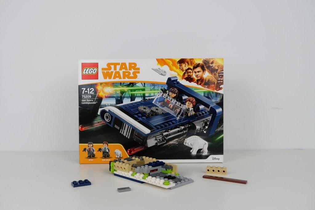 LEGO Star Wars Han Solo's Landspeeder Review 75209 Build Part 1