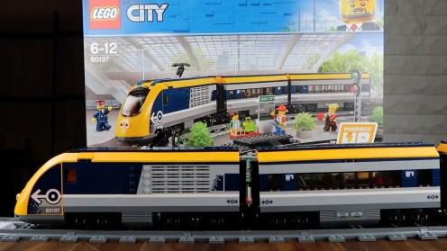 LEGO City Passenger Train 60197 Build - 3