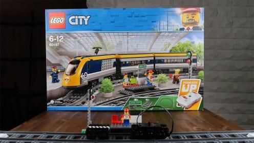LEGO City Passenger Train 60197 Build - 4